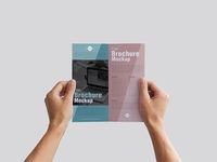 Free Man Holding Brochure Mockup Psd 2018