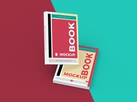 Free Stylish Books Mockup Psd