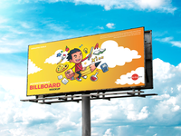 Free Advertisement Billboard Mockup Psd