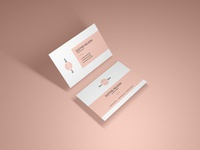 Free Modern Presentation Business Card Mockup Psd