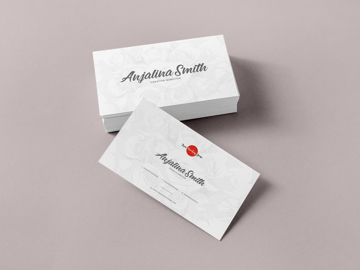 Free Brand Business Cards Mockup Psd By