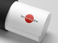 Free Paper Tube Logo Mockup PSD