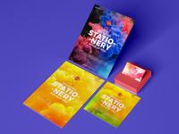 Free Branding Stationery Mockup Psd
