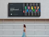 Free Outdoor Wall Billboard Mockup For Advertisment