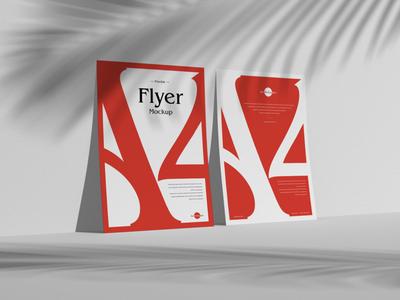 Free Brand Presentation Flyer Mockup PSD