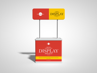 Free Brand Promotion Display Mockup