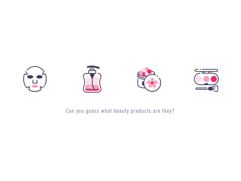 Beauty icon② icon 设计