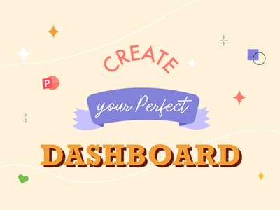 Create Dashboards ✨ illustrator art design vector perfect illustration article design dashboard design typography blog dashboard