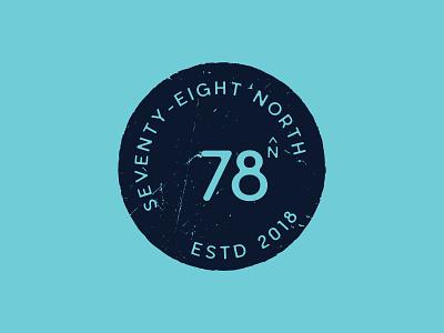 78north Logo Concept 2 variation rough concept branding logo design