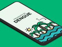Prevención del Dengue health ui  ux design health app app