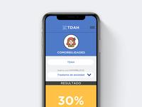 TDAH health health app app ui  ux design