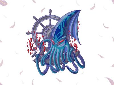 Kraken, T-Shirt Illustration Legend And Myth Of Kraken