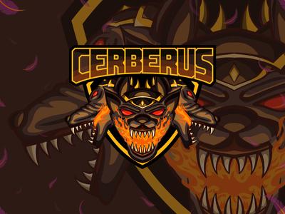 Cerberus esport logo | Mascot