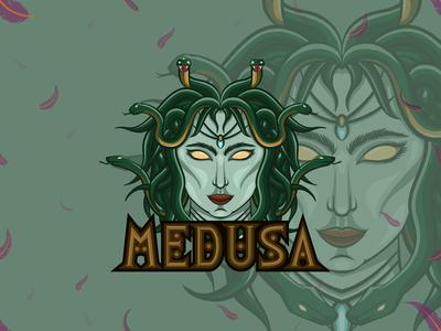 Medusa eSports logo | Mascot