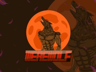 Werewolf eSports logo | Mascot