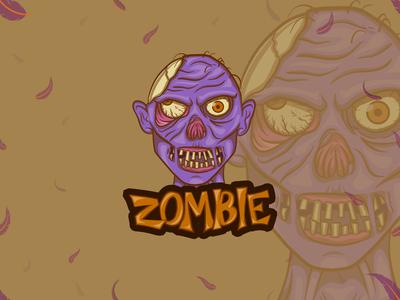 Zombie eSports logo | Mascot