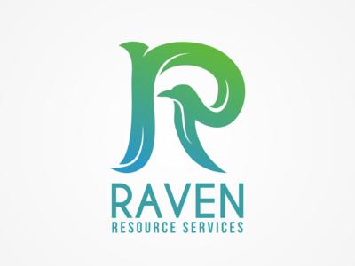 Raven logo design