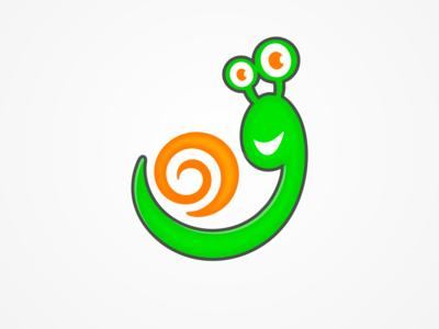 Snail logo design