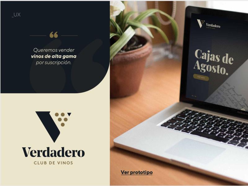 Web Verdadero web design ux ui