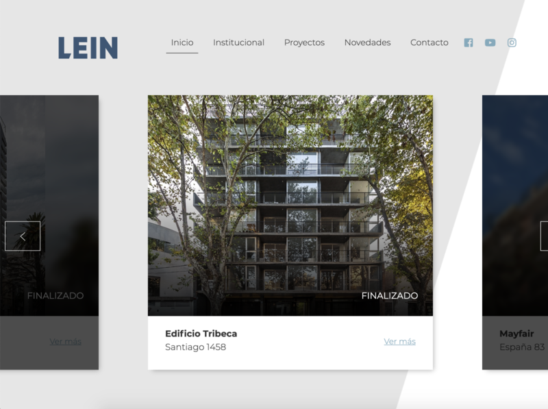 Web Lein design web ux ui