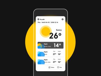 Weather Pop-ups