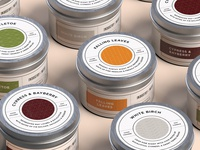 Industry West x MacMaddies Holiday Candle Packaging
