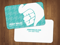 Finally, A Business Card