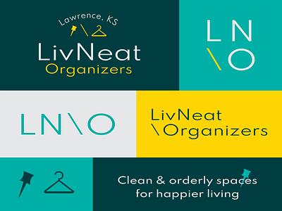 Logo for LivNeat logoset logotype logo branding design graphicdesign