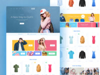 Tailstore (template for OpenCart) Pt. 1