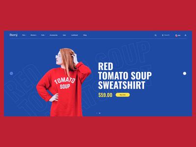 Storǝ̤ - Shopify template Pt. 1