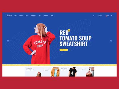 Storǝ̤ - Shopify template Pt. 2