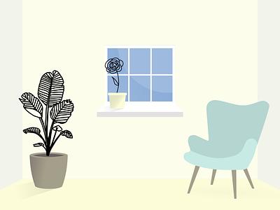 Botanical Line Drawing - Composition #2 branding plants line drawing illustration flowers illustration botanical illustration