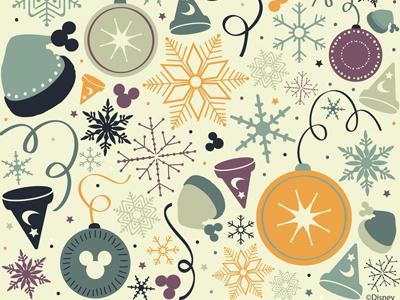 Walt Disney Wrapping Paper 2 paper pattern design disney disneyworld christmas