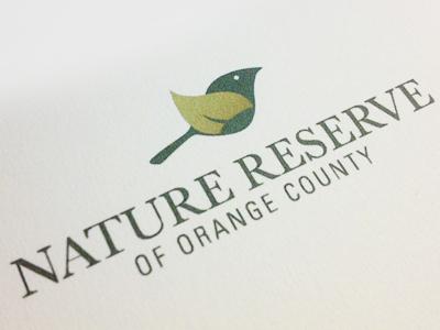 Non Profit Identity nature identity branding logo bird leaf non-profit