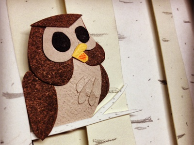 Owl paper paper craft paper art disney collage craft owl