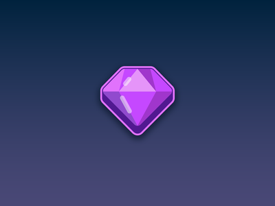 Gem Icon - Game Assets - www.beavystore.com unity unity2d unity3d mobilegames games gameasset assets uıdesign uiux gameart gamedeveloper madewithunity illustration vector ui ux icon design game mobile