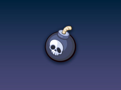 Bomb Icon - Game Assets - www.beavystore.com uiux mobilegame unity2d unity3d illstration gamedeveloper madewithunity icon vector ux ui design app game mobile