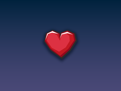 Heart Icon - Game Assets - www.beavystore.com gamedesign uidesign uiux iconpack unity3d gameart madewithunity icon vector ui ux design mobile game