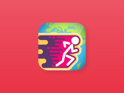 Bilgi Maratonu Mobile App Icon gripati quiz game trivia ios stickman run icon app mobile