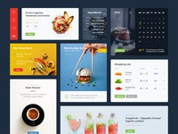 Food and drinks ui full