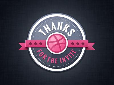 Thank you @berttimmermans badge invite thank you berttimmermans psd download