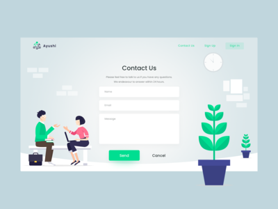 Contact us web page hero header typography light theme contact social user experience user interface contact us website clean photoshop illustration minimal ux ui web