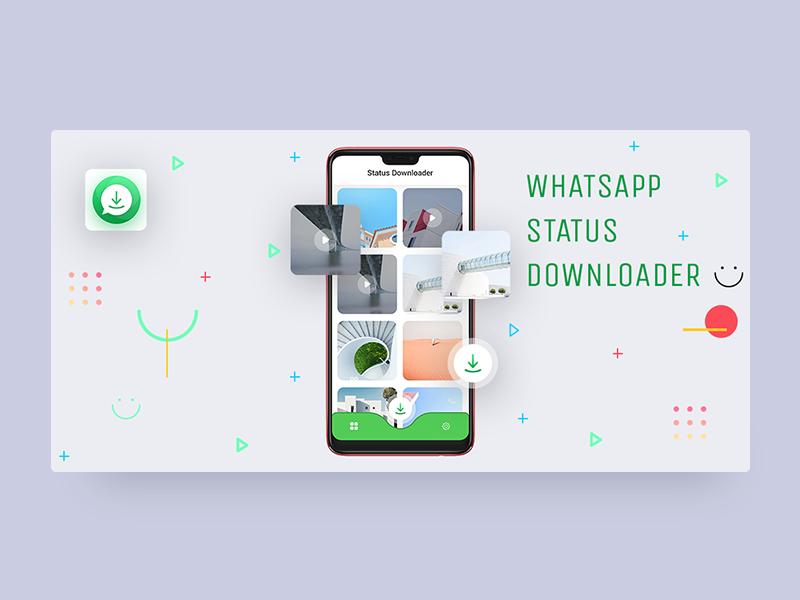 Whatsapp status Downloader cards app