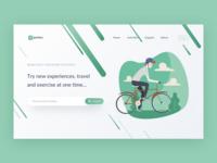 Outdoor Activities Web Concept