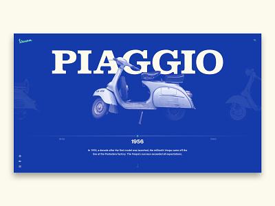 Italian Ride branding psd sketch vespa design web ux ui