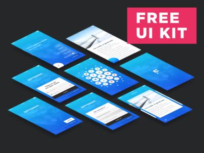 Different UI KIT - Free Download !