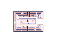 Duotone E maze