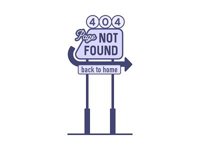 404 Page Not Found vintage signage motel sign retro style retro design sign motel not found retro rebound dribbbleweeklywarmup dribbble website web minimal error 404 error page 404 page 404 error 404