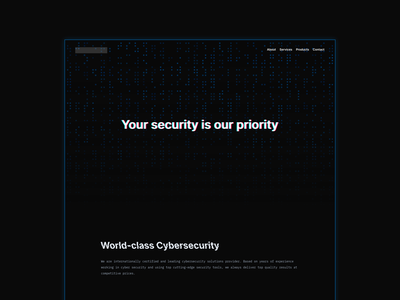 Nemosecurity Website Redesign design minimal ui website redesign website design web design web security cybersecurity cyber dark redesign website
