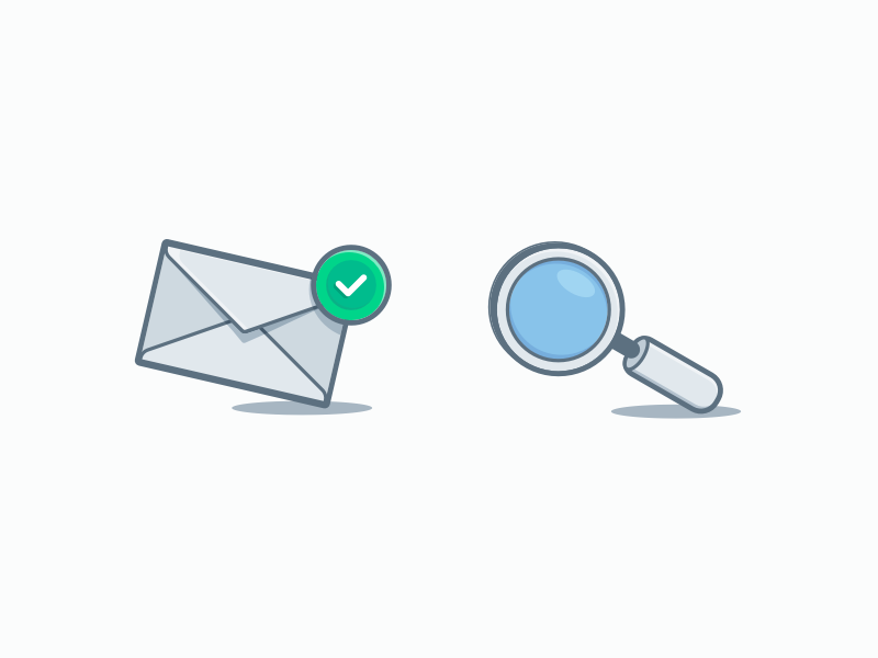 Minimal Detailed Icons illustration empty state ux exploration mail dribbble filled outline design detailed simple minimal icon ui success search email sketch